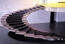 Belsőép:Lépcsők / Belsőépítészet