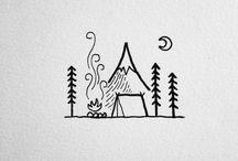 Simple illustrations / David Powell, Liam Ashurst, Jared Hohn, Eva Svartur...