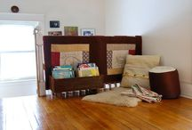 Kids Reading Nook Ideas / Reading spaces and nook ideas for #kids / by Craft Snob