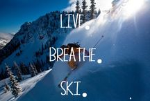 Skiing quotes / Best skiing quotes for passionate skiers