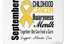 Childhood Cancer Awareness / Childhood Cancer Awareness  My Heart's Desire Is To Find A Cure  For Childhood Cancer