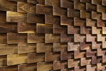 INTERIOR DESIGN - walls,partitions & deviders / Walls get personalities with innovative 2D and 3D patterns, laser cuts and creative use of materials