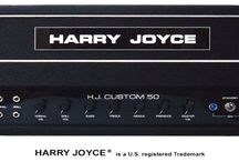 HARRY JOYCE CUSTOM 50 Watt Guitar Amplifier / The Harry Joyce 50 watt amplifier is an A-B class amplifier. These are all point to point, hand wired. Built right here in the United States of America under the watchful eye of George Scholz. Experience the true sound of a Harry Joyce amplifier. Handwired and built in the U.S. with the best materials and components. Available at HarryJoyce.com Hear the difference
