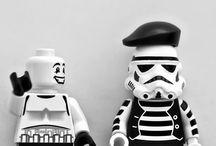 Sjovt lego Star wars