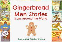 gingerbreadmen / by Janeen Shaw