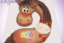 лошадь торт
