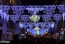 Málaga en Navidad. / Ambiente de las calles del centro de Málaga durante las fiestas de Navidad. Música, luces y felicidad. ¡Magnífico! Para ver más información