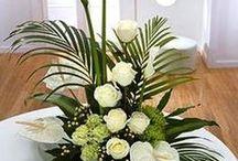 centros flores