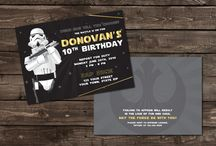 Star Wars Party Designs