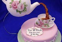 tea pot cakes