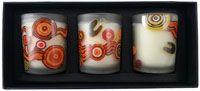 Aboriginal design Candles / Aboriginal design Candles