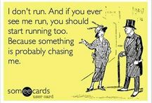 Anti- Running / by Meghan Murphy