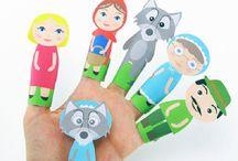 Bricolage marionnettes a doigt