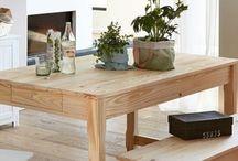 Tables / Идеи столов и столовых зон