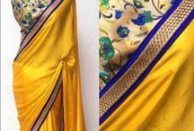 simple blouse for silk sarees