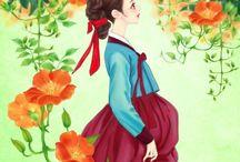 Han Bok  Illustrations