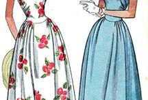 mönster klänningar