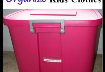 Kids organization / by Jacqueline Sharayko