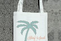 Destination Wedding Welcome Bags & Favors! / Welcome bag for guests attending your destination wedding in Costa Rica!