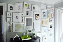Decor: Gallery Wall Ideas / by Megan Legear
