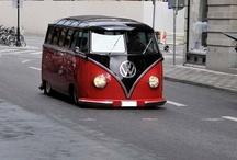 VW Beetles and Campervans and Ghia's