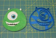 Monsters Cookie Cutters
