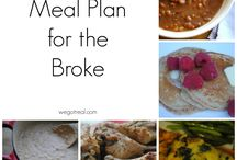 Meal planning / Tips and ideas on keeping up with a family meal plan