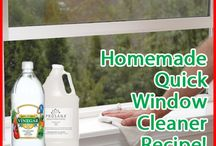 The Green Cleaner / Don't endanger yourself or your home's environment. Use natural cleaners when you can. www.academyrealty.com