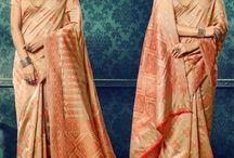 Brocade/Banaras/Silk Sarees / Buy silk sarees, brocade sarees, banaras sarees online at www.natashacouture.com