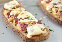 Tartines, sandwich