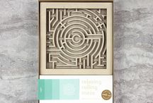 Relaxing Rolling Mazes