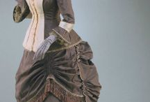 Woman clothes 1870-1900
