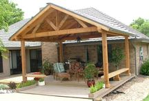 Porch time / Front porch /garage addition? / by Lexie Gunn