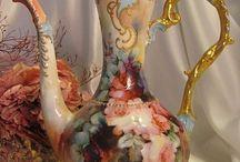 薔薇の花瓶