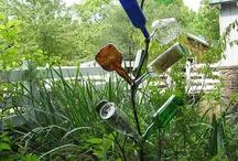 GLASS BOTTLE TREES