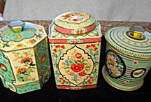Vintage Tins / More Than McCoy has hundreds of vintage tins for sale; some in groups and some individually. Stop in for a great selection. Support a small business and visit us at More Than McCoy on TIAS or Etsy! Your patronage is appreciated! / by More Than McCoy