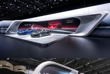 Car's booth / Futuristic