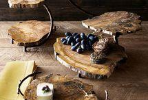 ξύλινες κατασκευές κομοδίνα