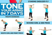 - Arms exercises -