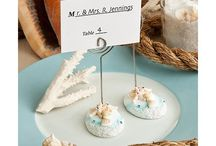 Matrimonio in Estate / Accessori a tema mare, sabbia, conchiglie e tutto ciò che più rappresenta la bellissima stagione Estiva!