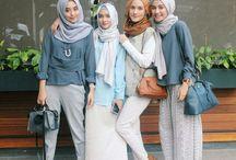 Hijab fashion & style