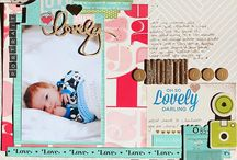 The Shimelle Collection from American Crafts / Scrapbook pages, cards, and other projects made with the Shimelle paper craft collection from American Crafts. / by Shimelle Laine