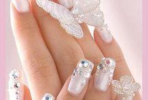 Poppin Nail Art / Pretty nails and toe nails
