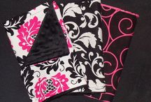 Bibs,car covers,burp cloths / Home made / by Sharon Valentine