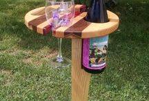 Woodworking and Wine
