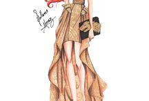 디자인 스케치북    드레스