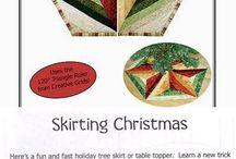karácsonyi  teritők és más minták