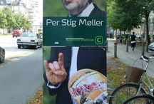 Valgplakater på kanten / #digivisk