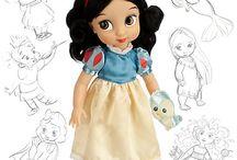 Animation dolls princess