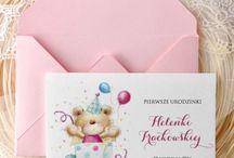Zaproszenie urodzinki